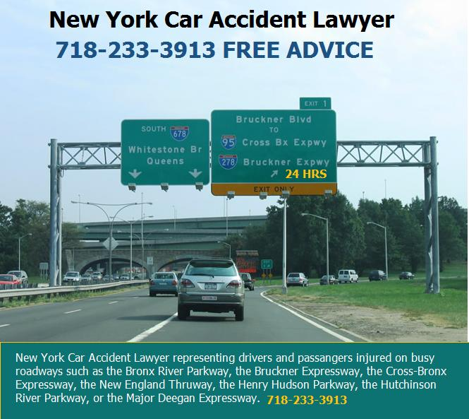 Breaking, Car Accident Bronx Expressway | NYC Injury News