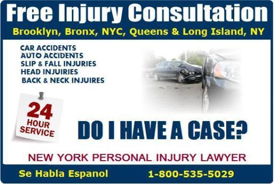 personal Injury Advice NYC